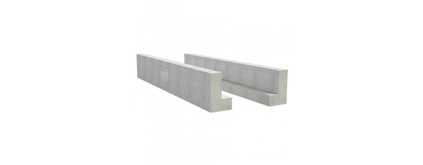 Nadproża betonowe - Belki nadprożowe L-19  - ADAMEX